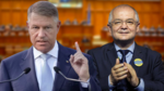Klaus Iohannis si Emil Boc