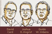 David Card, Joshua D. Angrist si Guido W. Imbens