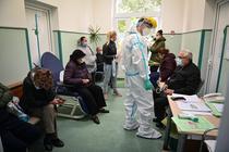Pacienti cu Covid-19 la Institutul Marius Nasta