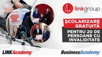 LINK Academy și BusinessAcademy oferă și anul acesta 20 de școlarizări gratuite în domeniul afacerilor și IT persoanelor cu dizabilități