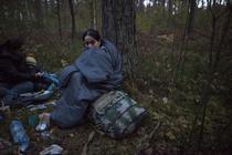 Migranti la granita dintre Polonia si Belarus