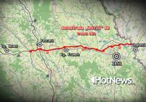 A8 Autostrada Unirii - Traseul Tg Neamt - Iasi - Ungheni (SF 2021)