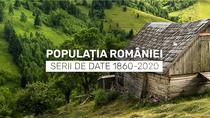 Populatia Romaniei. Serii de date