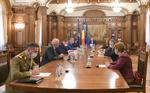 Iohannis, sedinta la Cotroceni pentru restrictii