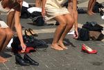 Protest inedit la Roma