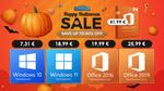 Windows 10 pro doar 7,31 EUR și 60% reducere la produse noi