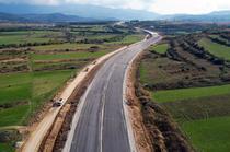 Lucrari pe oprima sectiune din Autostrada A1 Sibiu - Pitesti